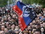 Луганская народная республика обратилась к России с просьбой о признании ее независимости