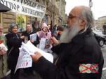 К годовщине событий в Сирии. Пикет и молебен в поддержку Сирии 05.09.2013 г. (видео)