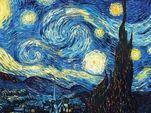 Копию картины Ван Гога размером с монету сделали из ДНК