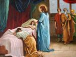 Воскрешение дочери Иаира и исцеление кровоточивой женщины