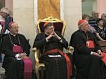 """Православные """"богословы"""" признали примат папы и отслужили литургию у католической, не признанной в православии, """"святыни"""""""