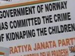 Многие страны потребовали вернуть украденных в Норвегии детей приезжих