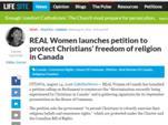 В Канаде массовые репрессии христиан: петиция.