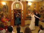 И снова танцы в храме – в подмосковных Люберцах отмечали новый год